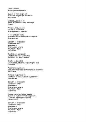 Corazón - Christian Montaño