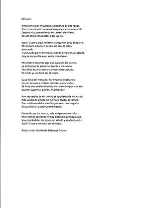 El Cuate - Jesús Humberto Lizárraga Osuna