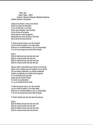 Así - Darwin Rosario Batista Medina