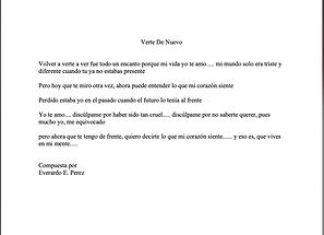 Verte De Nuevo - Everardo E. Perez