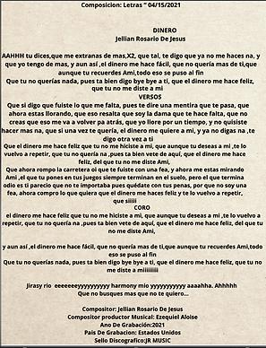 Dinero - Jellian Sairy Rosario De Jesús