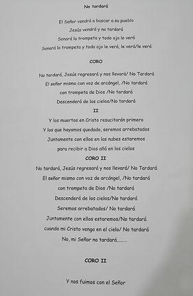 No Tardará - Sonia Edith Jiménez Alonzo