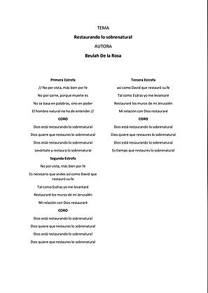 Restaurando Lo Sobrenatural - Beulah De La Rosa