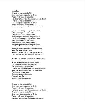 Congelado - Alan Paquini Ramírez