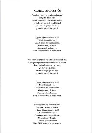 Amar Es Una Decisión - Joanna Habiak / Ricardo Maza