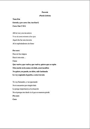 Travesía - Paola Lebrón