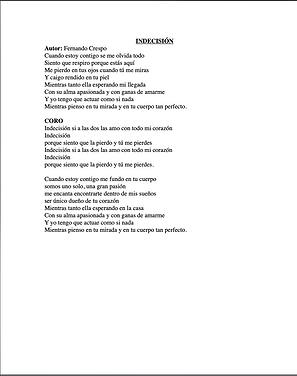 Indesición - Fernando Crespo