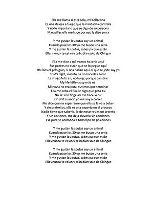 Mi Amante Es Una Puta - Ely Valentino Binet Batista