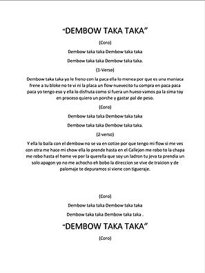 Dembow Taka Taka - Carlos Eduardo Santana Torres
