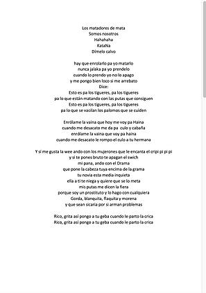 Pa los Tigueres - Ely Valentino Binet Batista