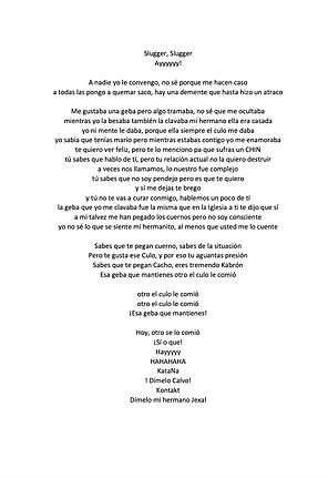 Pa Mi Ex (freestyle) - Ely Valentino Binet Batista