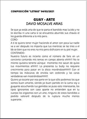 Guay - Arte - David Monsalve Arias