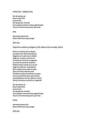GTA - Patricio Gabriel Bazan Macias / Alejandro Jiménez Cabrera (Klazz Music)