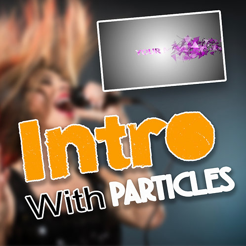 Particles Intro For Your Videos