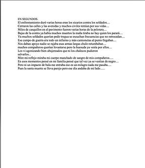 En Segundos - Emmanuel Ramírez Hernández
