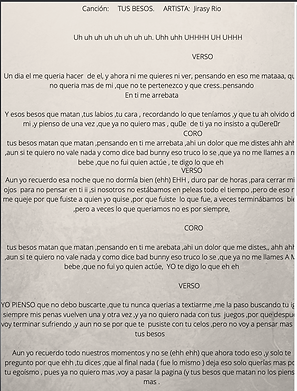 Tus Besos - Jellian Sairy Rosario De Jesús