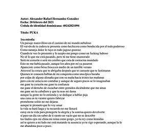 Puka - Alexander Rafael Hernández González