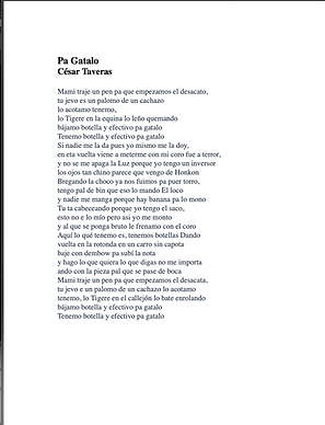 Pa Gatalo - César Taveras