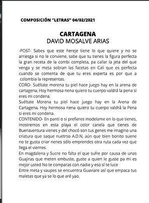 Cartagena - David Monsalve Arias