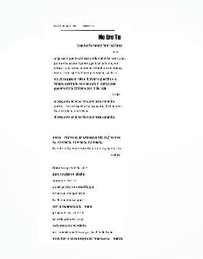 No Ere Tu - Pedro Alexander Severino Santana