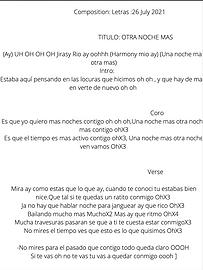 Otra Noche Más - Jellian Sairy Rosario De Jesús / Ezequiel Aloise