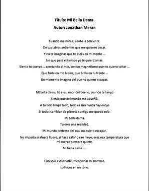 Mi Bella Dama - Jonathan Meran