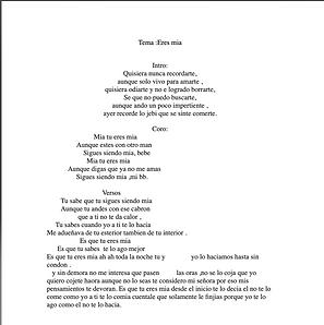 Eres Mia - Rodolfo Lovera