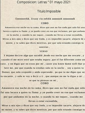 Imposible - Jellian Sairy Rosario De Jesús