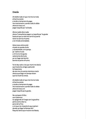 Crecía - Stefania Jennifer Mutti Bocio