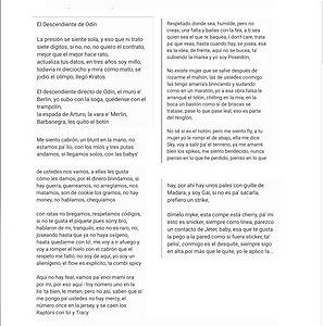 El Descendiente De Odín - Raymond Melendez Alarcon