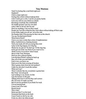 Tony Montana - Valentina Stephani Toledo Cáceres