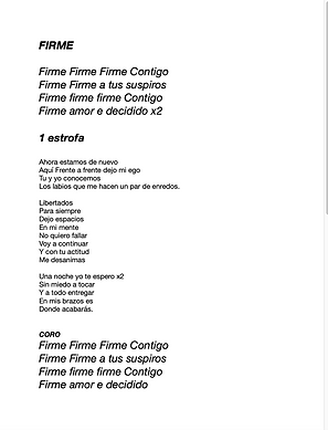 Firme - Isaac Orantes