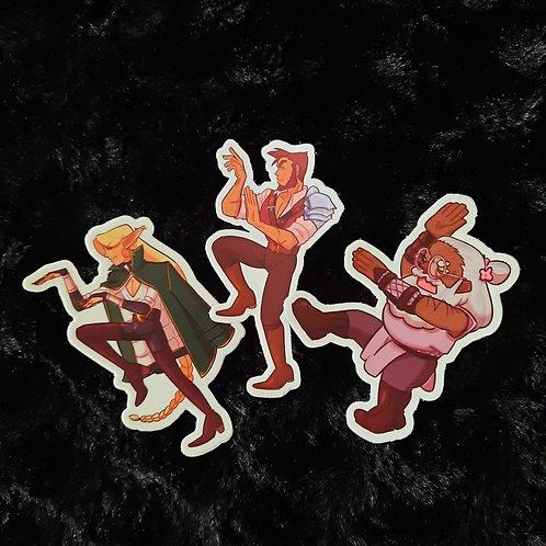 TAZ Stickers