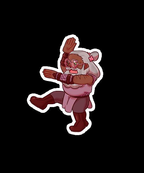 Merle - TAZ Sticker