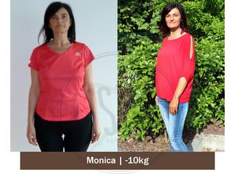 Monica  – Storia vera dimagrimento | Foto Prima e dopo