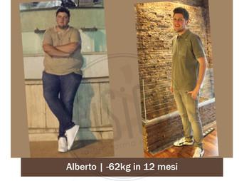 Alberto – Storia vera dimagrimento uomo   Foto Prima e dopo