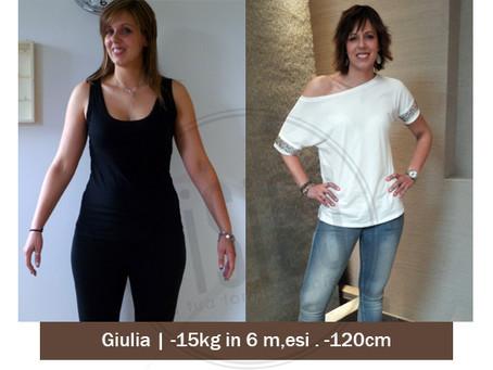 Fisico Trissino: la storia vera di Giulia. -15kg in 6 mesi
