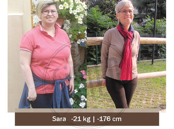 Sara – Storia vera dimagrimento | Foto Prima e dopo