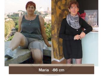 Maria  – Storia vera dimagrimento | Foto Prima e dopo