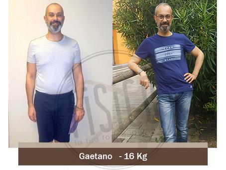 Gaetano dimagrisce di 16kg in 6 mesi grazie a fisico Vicenza