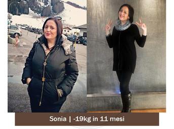 Sonia  – Storia vera dimagrimento | Foto Prima e dopo