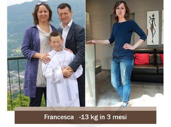 Francesca – Storia vera dimagrimento | Foto Prima e dopo