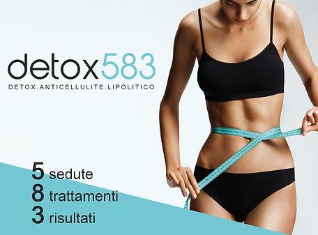 promozione detox trattamenti corpo centro fisico vicenza thiene trissino bassano