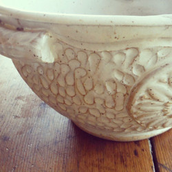 Thrown & Carved Bowl