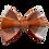 Thumbnail: Orange Plaid Bow