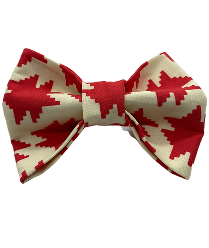Red Shape Bow