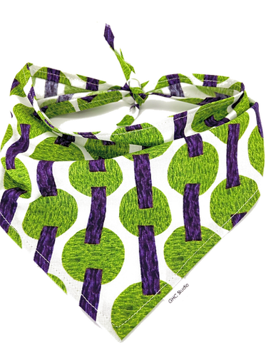Purple and Green Shapes