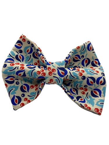 Blue and Berries Bow