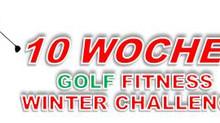 Winterzeit - Golffitnesszeit: Mit unserer Winter Challenge ist Dein Einstieg so einfach wie noch nie