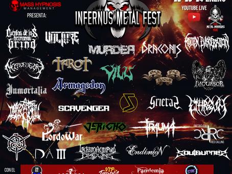 """El """"Infernus Metal Fest"""" será este 22-23-24 de Enero, con 26 bandas de 11 países."""